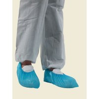 Blue Disposable Overshoes - Pack of 50