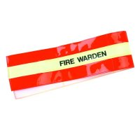 High-Visibility Fire Warden Armbands