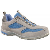 Antibes Suede Ladies Safety Trainer