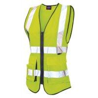 Premium Ladies High Visibility Waistcoat