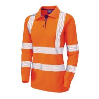 High Visibility Coolviz Ladies Polo shirt