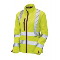Ladies High Visibility Softshell Jacket
