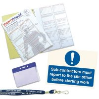 Permit To Work Book & Sign Kit