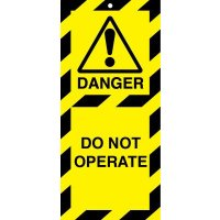 Lockout Safety Tags - Do Not Operate