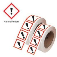 Harmful/Irritant - GHS Symbols On-a-Roll