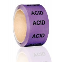 British Standard Pipeline Marking Tape - Acid