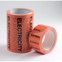 British Standard Pipeline Marking Tape - Electricity