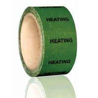 British Standard Pipeline Marking Tape - Heating