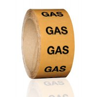 British Standard Pipeline Marking Tape - Gas