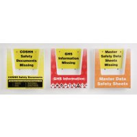 Hazardous Substances Safety Document Holder Multipacks