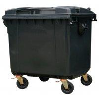 4 Wheeled Polyethylene Waste Containers