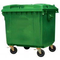 4 Wheeled Polyethylene Waste Containers