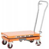 Single Mobile Scissor Lift Tables