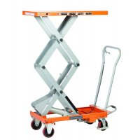 Double Mobile Scissor Lift Tables
