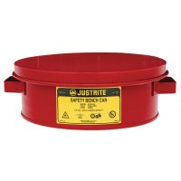 Justrite Flammable Liquid Bench Cans