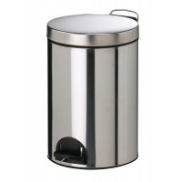 Heavy-Duty Metal Pedal Bins