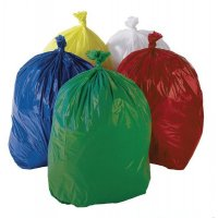 Coloured Refuse Sacks - 200 pk