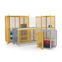 Security Cages - Mobile Galvanised