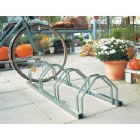 Floor Mounted Bicycle Rack - 5 Berth