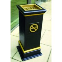 External Heavy-Duty Cigarette Bin