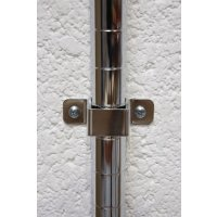 Wall Brackets for Chrome Wire Shelving