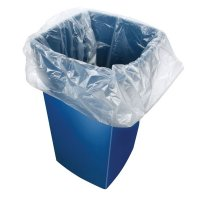 Clear Refuse Sacks in Dispenser Box - 200 pk