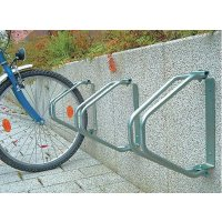 Wall-Mounted Bicycle Rack - 1 Berth