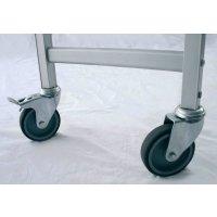 Stainless Steel Shelving - Castors