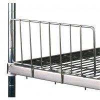 Stainless Steel Shelving - Side Ledges