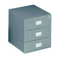 Lockable Drawer Units For Steel Heavy-Duty Workbenches