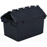 Eco Crate Attached Lid Container