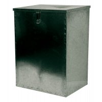 Galvanised Storage Bins