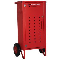 Armorgard SafetyKart Fire Extinguisher Trolley