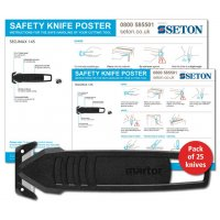 Martor SECUMAX 145 Safety Knife Poster Bundles