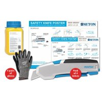 Martor SECUPRO 625 Safety Knife Poster Bundles