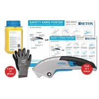 Martor SECUPRO Martego Safety Knife Poster Bundles
