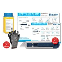 Martor SECUNORM Profi25 MDP Safety Knife Poster Bundles