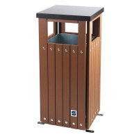 Outdoor Recycling & Waste Bin