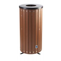 Nestor Open Top Round Outdoor Bin