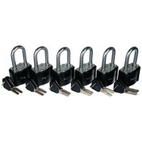 Handy 6 Pack Padlocks
