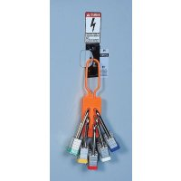 High-Visibility Non-Conductive Lockout Hasp