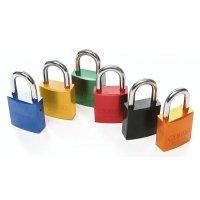ABUS Colour-Coded 6-Pack Aluminium Padlocks