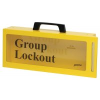 Portable/Wall Group Lockout Box