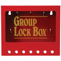 Wall Mounted Metal Group Lockout Box
