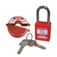 Valve Lockout & Safety Padlock Kits