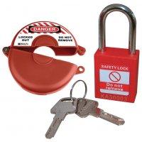 Valve Lockout & Safety Padlock Kits