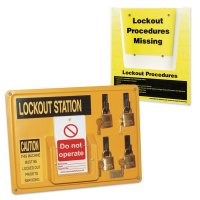 Lockout Station and Procedure Holder Kits