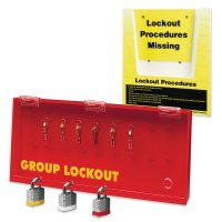 Group Lockout Centre & Procedure Holder Kits