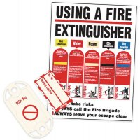 Fire Equipment Nanotag & Extinguisher Sign Kit