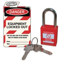Safety Padlock & Tag Kit